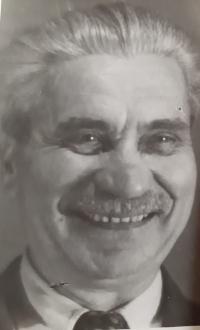 Gustav Josef Maláč, portrét otce pamětníka, asi 1958