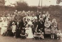 Svatební fotografie, 1954