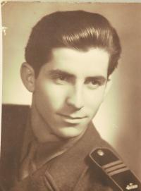 Josef Mišák na vojně, 1951