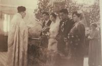 Svatba s Josefou, 1954