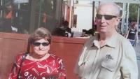 František se svou třetí ženou Anežkou, která byla nevidomá