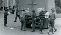 Protestní kampaň proti okupaci vojsky Varšavské smlouvy v Českém Dubu, po 21. srpnu 1968