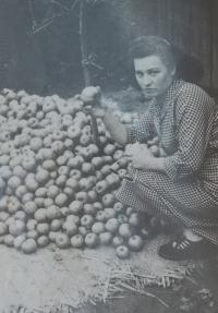 Žofie Slováčková v roce 1959