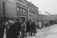 Generální stávka v Českém Dubu, 27. listopadu 1989