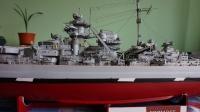 Františkův vlastnoručně vyrobený model křižníku