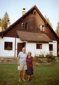 Na chalupě  s rodinou - Pohoří na Šumavě