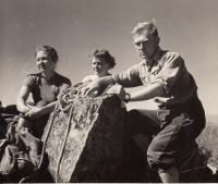 Edita Reinoldová, hory, mládí