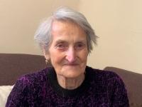 pamätníčka Helena Aková v súčasnosti