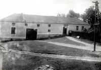 Rodný dům na konci obce Buková