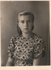 Dobový portrét pamětnice