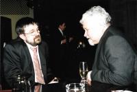 S Petrem Pithartem, Budapešť 2004