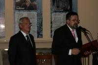 S maďarským prezidentem László Sólyemem u příležitosti 40. výročí Pražského jara na velvyslanectví ČR, Budapešť 2008