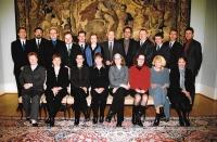 Setkání ředitelů českých center, Evžen Gál stojící 2. zleva, Praha 2004