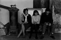 Rodina Medkova v ateliéru na Letné, Praha 1967