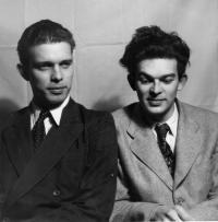 Bratři Ivan a Mikuláš Medkovi, Praha asi 1951
