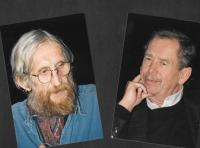Vráťa Brabenec a Václav Havel na Festivalu Českého centra Moje město, Budapešť 2009
