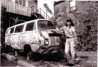 Josef Karafiát v Kanadě v 90. letech