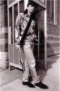 Josef Karafiát v Torontu, v Kanadě roku 1994