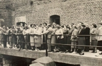 Alena Hudcová na zájezdě v Terezíně