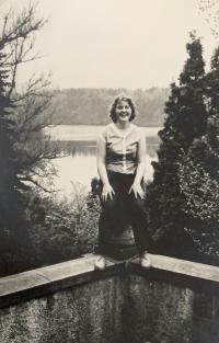 Alena Hudcová, přelom 50. a 60. let
