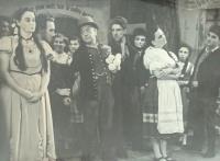 Otec Jaroslav ochotníkem, 50. léta