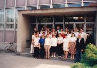 Teologická fakulta Jižní Čechy, 1996 (Josef Dolista - druhá řada, první zprava)