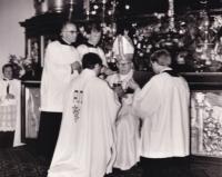 Vysvěcení ke kněžské službě, 28. června 1980 v Litoměřicích Františkem kardinálem Tomáškem