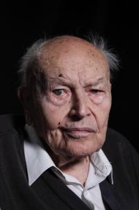 Josef Haisler, natáčení pro Paměť národa, červenec 2021