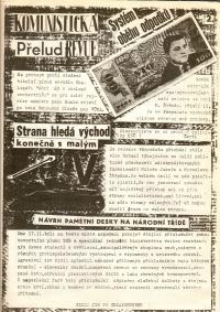 Satirický občasník studentů žurnalistiky Fámyzdat
