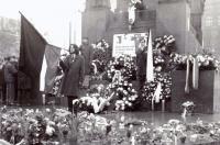 Tryzna za Jana Palacha na Václavském náměstí