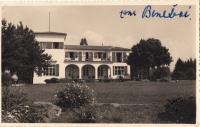 Vila prezidenta Beneše v Sezimově Ústí (s vlastnoručním podpisem Hany Benešové).