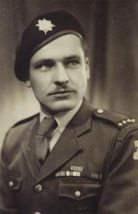 Ján Bačík in 1945