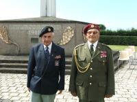 Josef Švarc and Ján Bačík in Darney, France 2008