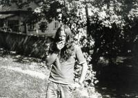 Alexander Vondra v mládí