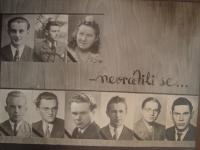Studenti roudnického gymnázia umučení k koncentračních táborech