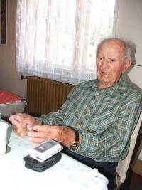 Jiří Boháč při natáčení