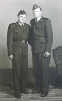 Fotografie z vojny - s Evženem Andresem