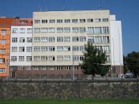 Budova bývalého gestapa v Plzni, kde sídlila StB a kde byl pan Pták držen ve vyšetřovací vazbě a vyslýchán