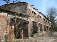 Poslední zachovalá šachetní budova dolu Rovnost - šatny a umývárna