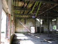 Uvnitř poslední budovy dolu Rovnost