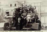 La Panne, Belgie, 1945