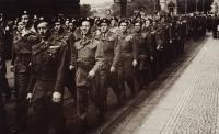 Pochod Prahou, 1945