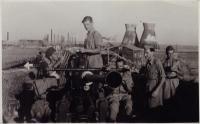 Obrana rafinerie v Haifě, léto 1942