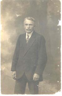 František Wiendl starší v ruském zajetí 1917
