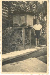 "František Wiendl, 30. léta, ""tesařská ohrada"" v Klatovech"