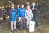 S Rotary klubem, Česko Bavorská hranice nedaleko Jägershof, 2013