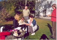 Oslava narozenin vnučky Františka Wiendla, 2005