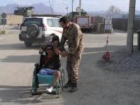 Jan Vevera v Afghánistánu v roce 2007