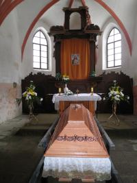 Pohřeb, katedrála v Českých Budějovicích