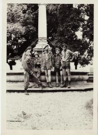 Skautská výprava - v době krátké legality před rokem 1971